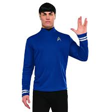 Plus Size Halloween T Shirts by Trek Beyond Spock Costume Deluxe Star Trek Costume