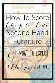 second hand home decor the 25 best second hand furniture ideas on pinterest furniture