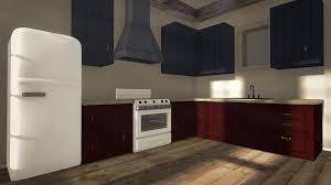 birch wood colonial raised door free kitchen cabinet design