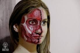 Halloween Makeup Burned Face by Specialfx Makeup