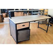 bureau loft industriel charming table salle a manger loft 2 deco bureau style
