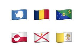 Six Flags Logo Fun With Emoji Flags Six Colors