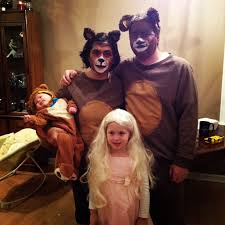 family costumes halloween halloween costume idea goldilocks and 3 bears family of 4