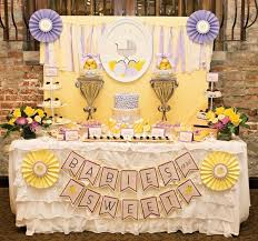 yellow baby shower ideas 25 baby shower ideas for girl