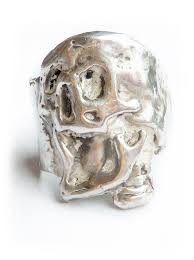 silver skeleton ring holder images Mens gothic rings badass rings for men mens skull ring jpg
