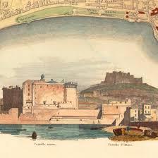 Napoli Map by Naples Napoli 1835 Sduk Antique Map Battlemaps Us