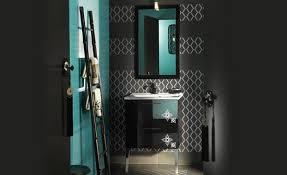 Bright Blue Bathroom Accessories by What Color Blue Is Best With Black Vanity Tiolet U0026 Nickel