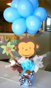 monkey decorations for baby shower monkey balloons arcos en globos monkey babies and