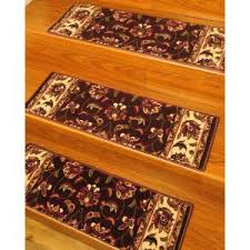carpet stair treads with landing mat carpet stair tread