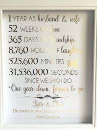 ideas for one year anniversary 1 year wedding anniversary gifts for ideas 1 year wedding