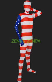 usa full body suit full body spandex lycra unisex zentai suit