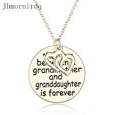 grandmother and granddaughter necklaces the between a present for grandmother and granddaughter