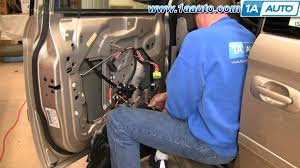 how to install replace power window regulator chrysler town and