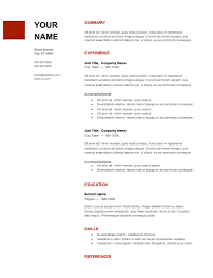 Copy Of A Professional Resume Free Resume Templates To Download Popsugar Career And Finance