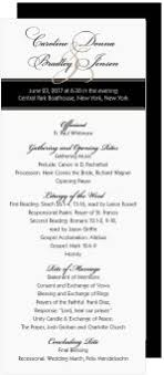 traditional wedding program shop traditional wedding programs magnetstreet
