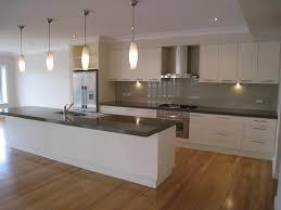 Cheap Kitchen Splashback Ideas White Kitchen Dark Bench Kitchen Pinterest Dark Kitchens