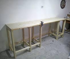 Work Benches With Storage Garage Workbench And Storage Plans Garage Workbench And Storage