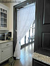 Ruffled Kitchen Curtains Can Decorate Ruffled Kitchen Curtain Separate Rooms