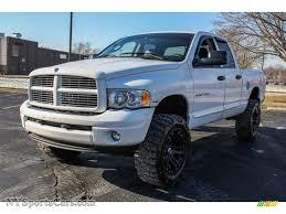 Dodge Ram White - 2004 dodge ram 1500 laramie quad cab 4x4 in bright white 230422