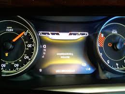 2015 jeep cherokee service transmission warning on page 2