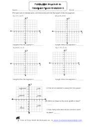coordinate plane worksheets