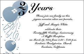 25th wedding anniversary invitations themed 25th wedding anniversary invitations item ahn0744