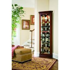 Used Curio Cabinets Furniture Curved Glass Curio Cabinet Curio Cabinets Cheap