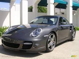 porsche slate gray metallic 2007 slate grey metallic porsche 911 turbo coupe 27850372