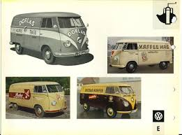 van volkswagen vintage the vintage vw van presented in dealer book glory modular 4