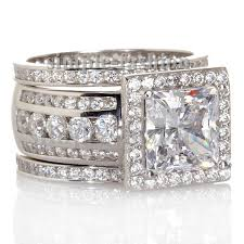 wide band engagement rings diamond engagement rings for women tags cz diamond wedding rings