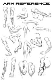 lots of arms for reference by nemonova on deviantart