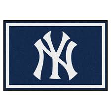 Area Rugs Nyc Fanmats Mlb New York Yankees Area Rug 5 X 8 Free Shipping