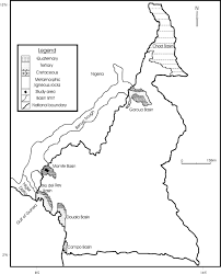 Map Of Cameroon Geochemical Characterization Of A Cretaceous Black Shale From The