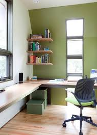 Home Office Decorating Ideas Small Spaces 30 Corner Office Designs And Space Saving Furniture Placement Ideas