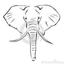 elephant tattoo design on white background tattoos book 65 000