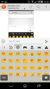mod guide changing default android emojis root updated