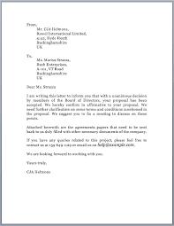 solicitation letter u2013 free sample letters