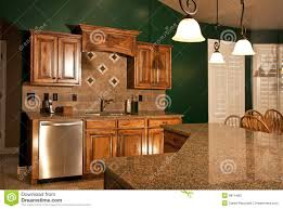 kitchen center islands home kitchen with center island stock image image 9914483