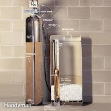 How To Change A Water Faucet Outside How To Plumb A Water Softener Family Handyman