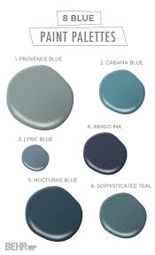 these 8 blue paint palettes will have you feeling anything but sad