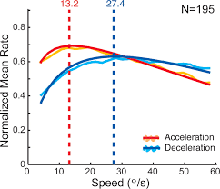 recent history of stimulus speeds affects the speed tuning of