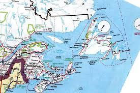 map of east canada map of canada east major tourist attractions maps