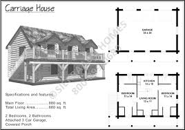 Carriage House Building Plans Carriage House Sierra Log Homes