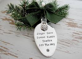 trucker ornament jingle bells diesel smells truckin all the way
