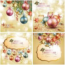 golden christmas cards vector vector graphics blog