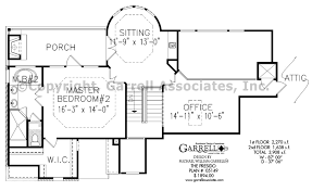 2nd Floor House Plan by Presidio House Plan House Plans By Garrell Associates Inc