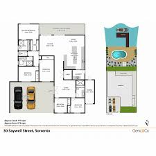 sorrento floor plan 5 bedroom single level family home on wide water