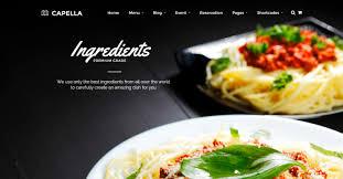 themes wordpress restaurant free 58 best restaurant wordpress themes themefounders