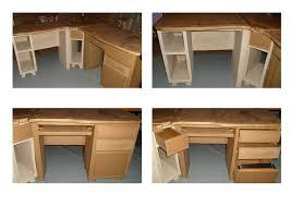 faire un bureau d angle comment fabriquer un bureau avec fabriquer bureau d angle