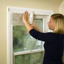 Privacy Cover For Windows Ideas Amazon Com Duck Brand Indoor 10 Window Shrink Film Insulator Kit